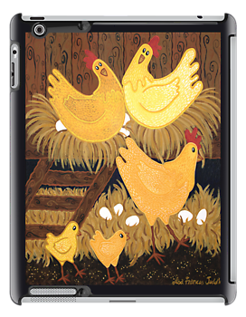 CHOOKIE HOUSE IPAD COVER by Lisa Frances Judd ~ Original Australian Art