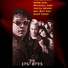 Lost Boys iPhone case by Brian Varcas