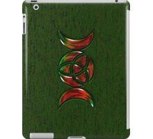 Triple Moon Goddess Symbol with Trinity Knot iPad Case/Skin
