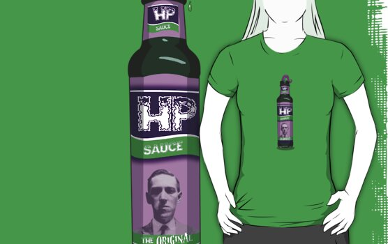 H P Sauce by Psychobilly-Tee