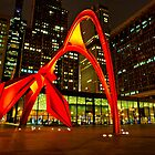 Federal Plaza (Calder Stabile) by James Watkins