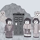 2nd Doctor and his companions by HappyDoctors