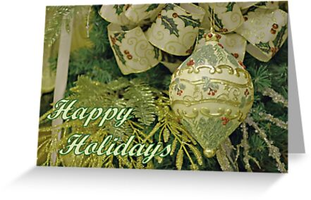 Christmas Card by Sandy Keeton