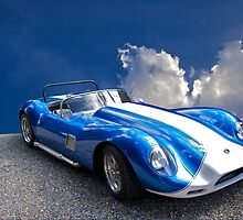 Vintage Lister-Cambridge Race Car 4 by DaveKoontz
