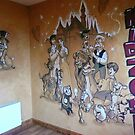 Wall Mural. 13' by 8 ' by alan  sloey