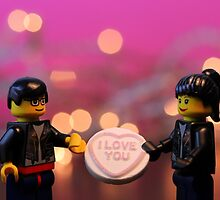Lego I love you by Victoria Lincoln