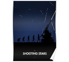 99 Steps of Progress - Shooting stars Poster