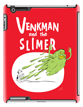 Venkman and the Slimer by moysche