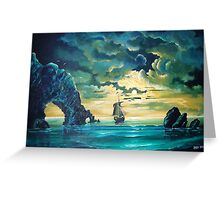 Midnight Voyage Greeting Card