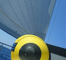 Sailboat Amel Sail Perspective #photography by SlavicaB
