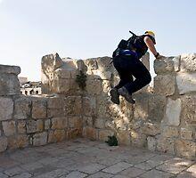 Nice jump! by dominiquelandau