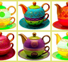 Tea for one collection by ©The Creative  Minds