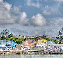 Fort Charlotte view from Arawak Cay in Nassau, The Bahamas by 242Digital