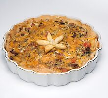Four Cheese Quiche Loraine by wolftinz