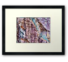 Painted in Stone Framed Print