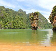 Phang Nga Bay - James Bond Island - Thailand by Honor Kyne