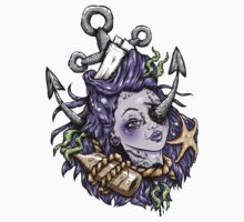 Severed Anchor Head (Purple) by Ella Mobbs