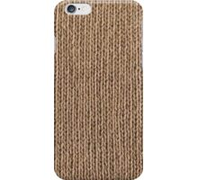 Simply knitted  iPhone Case/Skin
