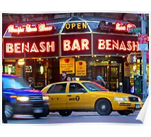 Taxi!    -     New York City Poster