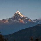 Annapurna Range  by LieselMc
