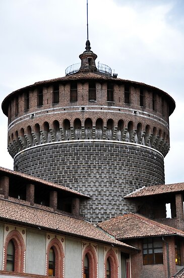 Castle Sforza by Karen E Camilleri