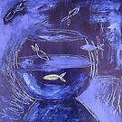 Fishbowl Blue by Thea T