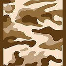 Camouflage Brown by monsterplanet