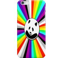 rainbow panda iPhone Case/Skin