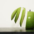 Sliced Apple by CollinScott