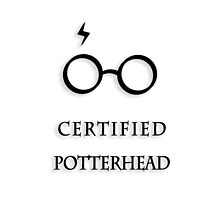 Certified Potterhead (B&W) by thegadzooks