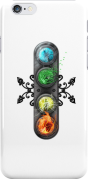 """Final Fantasy - Materia """" Elements"""" iPhone case by Reverendryu"""