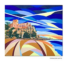 Ferragudo Castle by A3Art