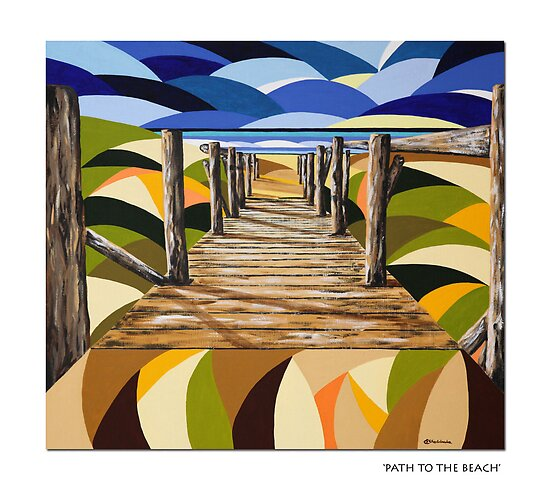 Path to the Beach by A3Art