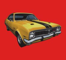 Australian Muscle Car - HT Monaro by tshirtgarage