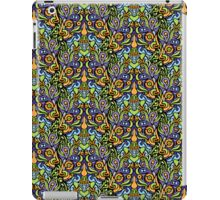 Psychedelic tribal jungle ornament iPad Case/Skin