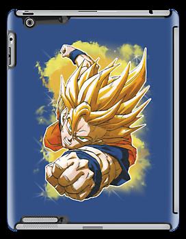 Super Saiyan Goku by MissCake