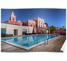 The Palace Swimming Pool Poster