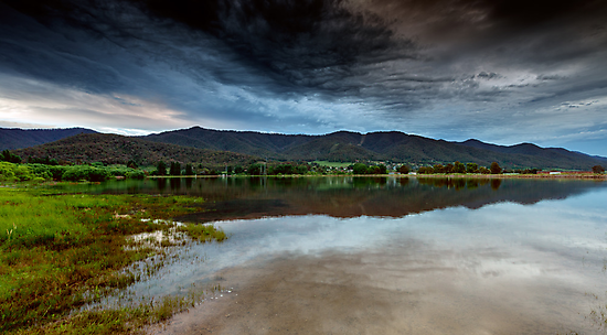 Dusk on the Lake by Mark  Lucey