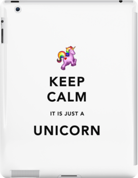 Keep Calm is Just a Unicorn by Ommik