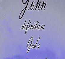 John iphone case by sarnia2