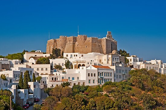 The Monastery of Saint John the Theologian in Patmos by Konstantinos Arvanitopoulos