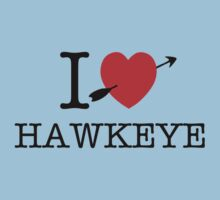 I Heart Hawkeye by zorpzorp