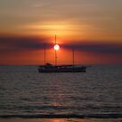 The Sunset Ship by GorgeousPics