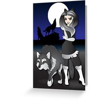 Twisted - Wild Tales: Kenley and the Wolf Greeting Card