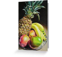 Tropical Bounty Greeting Card