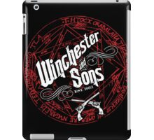 Winchester & Sons (Red Sigil) iPad Case/Skin