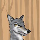 Wolf by makoshark
