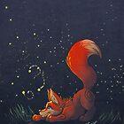Firefly Fox - Red by Zhivago