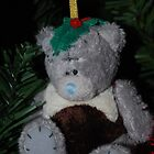 Merry Christmas Pudding Teddy!!! by Geraldine Miller