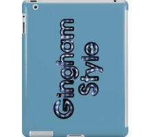 Gingham Style iPad Case/Skin